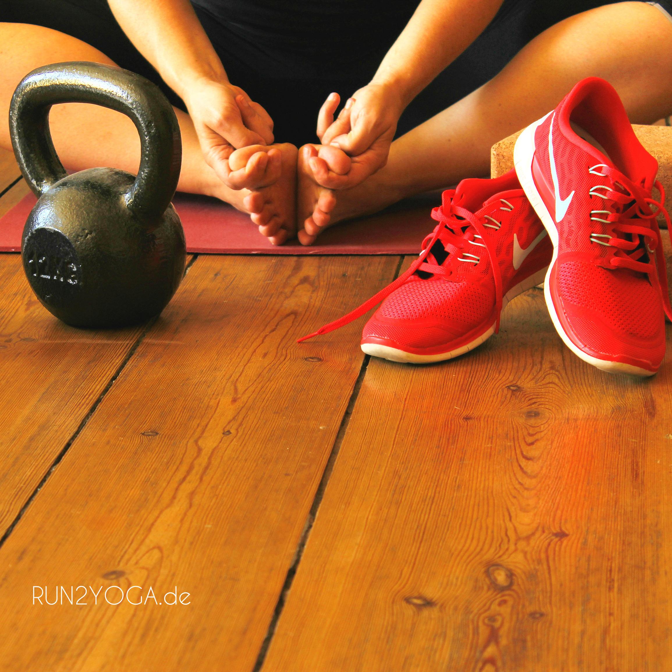 RUN2YOGA - Laufen trifft Yoga