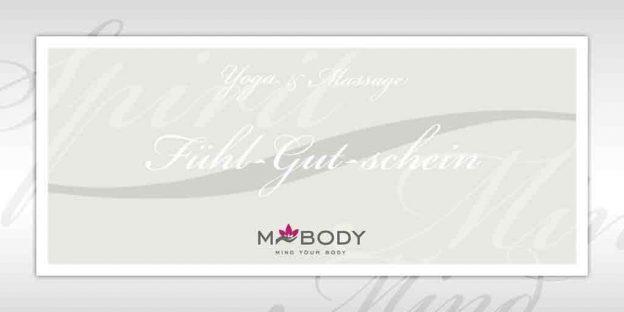 MBODY Geschenk Gutscheine zum Wohlfühlen