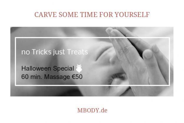 MBODY Halloween Massage Special