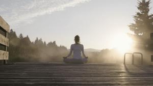 Fasten und Yoga in der Natur