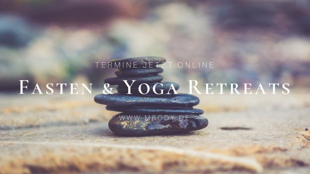 Fasten und Yoga Retreats 2022 | ©Sonja Eigenbrod | www.MBODY.de